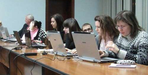 В Апараті Верховної Ради України проведено тренінг «Презентації та їх роль у спілкуванні з громадськістю»
