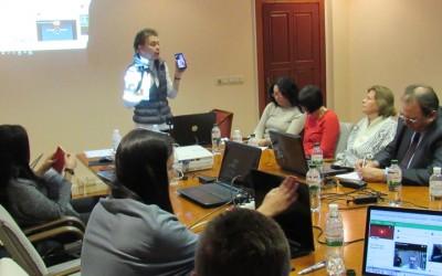 Працівники Апарату парламенту засвоїли професійні навички роботи в медіасередовищі Youtubе